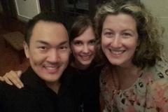 With Tamara Sanikidze, pianist and coach, and Wee Kiat Chia, countertenor, Summer 2017