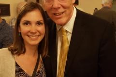 With beloved teacher, Warren Jones, at Music Academy of the West, Summer 2017