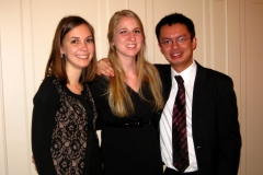 The Ritter Trio (with Hope DeCelle, cello and Eric Siu, violin), January 2013