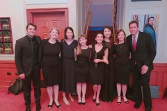 Post-Opera Scenes performance with Giuseppe Mentuccia, John Churchwell, and vocal piano fellows, Music Academy of the West, Summer 2017