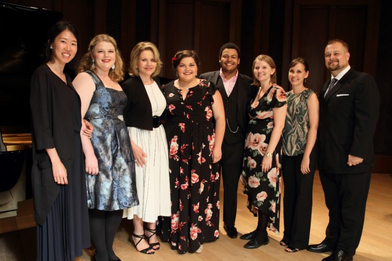 Master class with Renee Fleming, August 2017