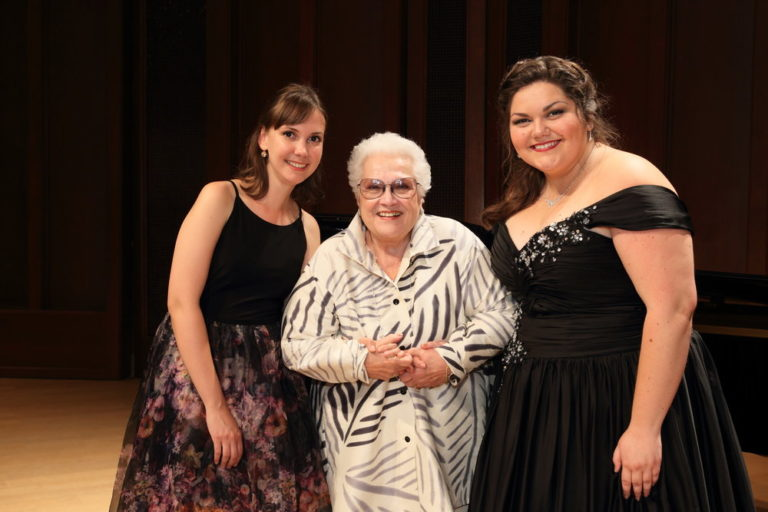 2017 Marilyn Horne Song Competition Winners